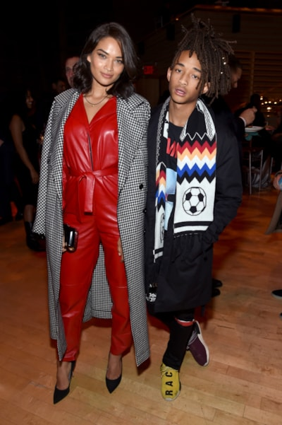 Shanina Shaik and Jaden Smith (Photo by Jamie McCarthy/Getty Images)