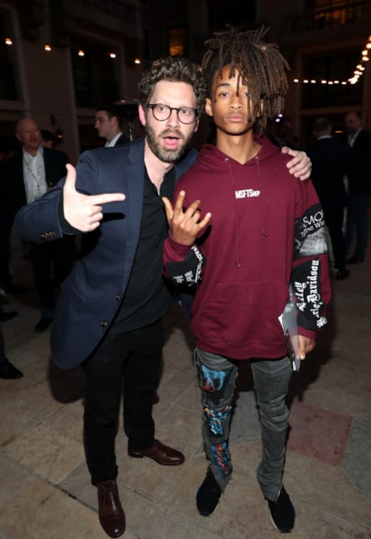 Asher Levin and Jaden Smith (Photo by Rich Polk/Getty Images for Environmental Media Association)