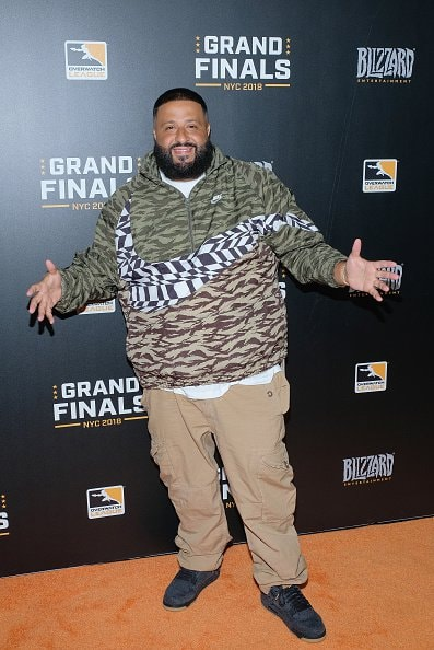 NEW YORK, NY - JULY 28:  DJ Khaled attends Overwatch League Grand Finals - Day 2  at Barclays Center on July 28, 2018 in New York City.  (Photo by Matthew Eisman/Getty Images for Blizzard Entertainment )