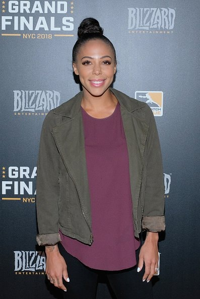 NEW YORK, NY - JULY 28:  Sydney Leroux attends Overwatch League Grand Finals - Day 2  at Barclays Center on July 28, 2018 in New York City.  (Photo by Matthew Eisman/Getty Images for Blizzard Entertainment )