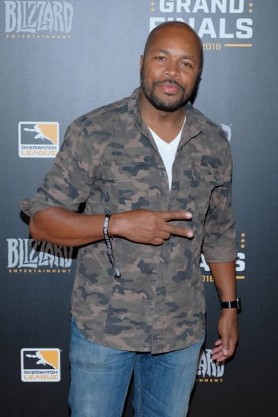NEW YORK, NY - JULY 28:  DJ D-Nice attends Overwatch League Grand Finals - Day 2  at Barclays Center on July 28, 2018 in New York City.  (Photo by Matthew Eisman/Getty Images for Blizzard Entertainment )