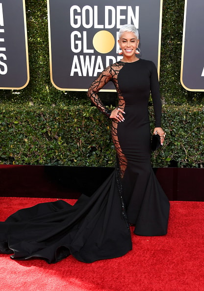 BEVERLY HILLS, CA - JANUARY 06: Sibley Scoles attends the 76th Annual Golden Globe Awards at The Beverly Hilton Hotel on January 6, 2019 in Beverly Hills, California.  (Photo by Jon Kopaloff/Getty Images)