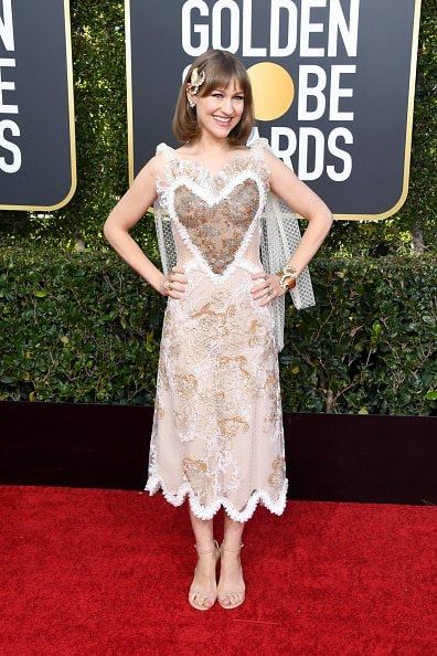 BEVERLY HILLS, CA - JANUARY 06:  Joanna Newsom attends the 76th Annual Golden Globe Awards at The Beverly Hilton Hotel on January 6, 2019 in Beverly Hills, California.  (Photo by Jon Kopaloff/Getty Images)