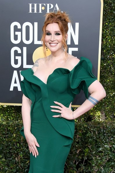 BEVERLY HILLS, CA - JANUARY 06:  Our Lady J attends the 76th Annual Golden Globe Awards at The Beverly Hilton Hotel on January 6, 2019 in Beverly Hills, California.  (Photo by Jon Kopaloff/Getty Images)