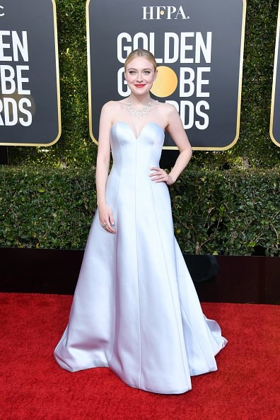 BEVERLY HILLS, CA - JANUARY 06:  Dakota Fanning attends the 76th Annual Golden Globe Awards at The Beverly Hilton Hotel on January 6, 2019 in Beverly Hills, California.  (Photo by Jon Kopaloff/Getty Images)