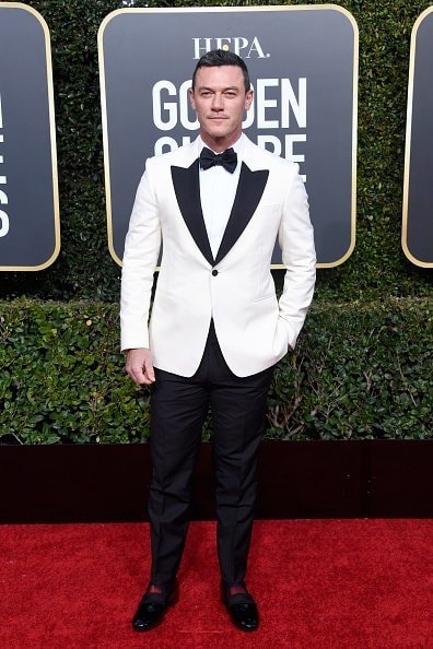 BEVERLY HILLS, CA - JANUARY 06:  Luke Evans attends the 76th Annual Golden Globe Awards at The Beverly Hilton Hotel on January 6, 2019 in Beverly Hills, California.  (Photo by Frazer Harrison/Getty Images)