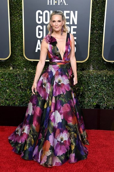 BEVERLY HILLS, CA - JANUARY 06:  Molly Sims attends the 76th Annual Golden Globe Awards at The Beverly Hilton Hotel on January 6, 2019 in Beverly Hills, California.  (Photo by Jon Kopaloff/Getty Images)