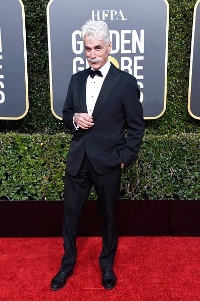 BEVERLY HILLS, CA - JANUARY 06:  Sam Elliott attends the 76th Annual Golden Globe Awards at The Beverly Hilton Hotel on January 6, 2019 in Beverly Hills, California.  (Photo by Frazer Harrison/Getty Images)