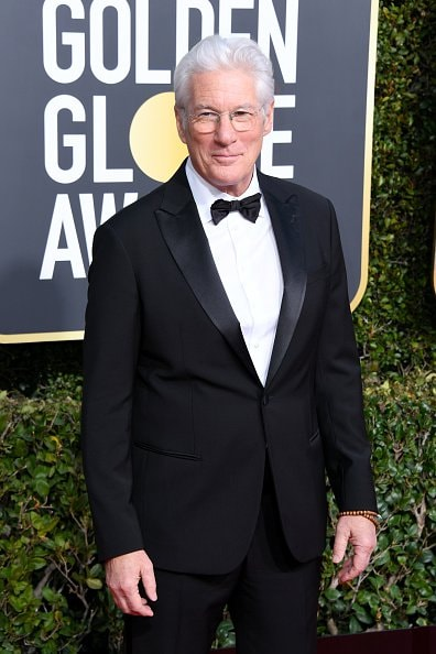 BEVERLY HILLS, CA - JANUARY 06:  Richard Gere attends the 76th Annual Golden Globe Awards at The Beverly Hilton Hotel on January 6, 2019 in Beverly Hills, California.  (Photo by Jon Kopaloff/Getty Images)