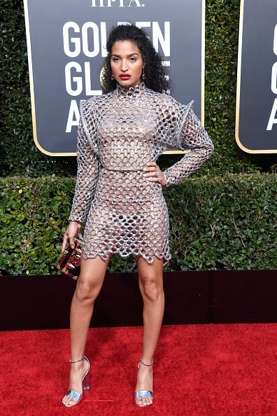 BEVERLY HILLS, CA - JANUARY 06:  Indya Moore attends the 76th Annual Golden Globe Awards at The Beverly Hilton Hotel on January 6, 2019 in Beverly Hills, California.  (Photo by Frazer Harrison/Getty Images)