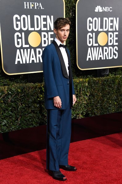 BEVERLY HILLS, CA - JANUARY 06:  Troye Sivan attends the 76th Annual Golden Globe Awards at The Beverly Hilton Hotel on January 6, 2019 in Beverly Hills, California.  (Photo by Frazer Harrison/Getty Images)