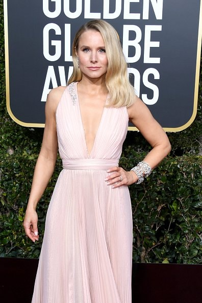 BEVERLY HILLS, CA - JANUARY 06:  Kristen Bell attends the 76th Annual Golden Globe Awards at The Beverly Hilton Hotel on January 6, 2019 in Beverly Hills, California.  (Photo by Jon Kopaloff/Getty Images)