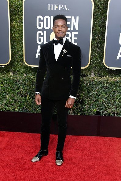 BEVERLY HILLS, CA - JANUARY 06:  Stephan James attends the 76th Annual Golden Globe Awards at The Beverly Hilton Hotel on January 6, 2019 in Beverly Hills, California.  (Photo by Jon Kopaloff/Getty Images)