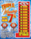 Chance to win: A Stack of Michigan Lottery $2 Triple Winning 7's Instant Games!