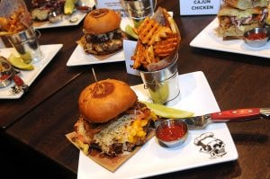 Celebrity chef Guy Fieri's Out Of This World Burger
