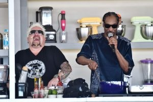 Guy Fieri and Snoop Dogg